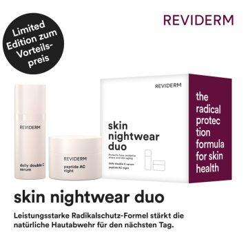 REVIDERM skin nightwear duo