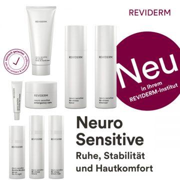 REVIDERM: Neuro Sensitive de-stress - Produktpalette