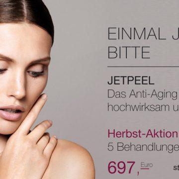 Herbst-Aktion 2020: JetPeel - 5 Behandlungen für 697 €