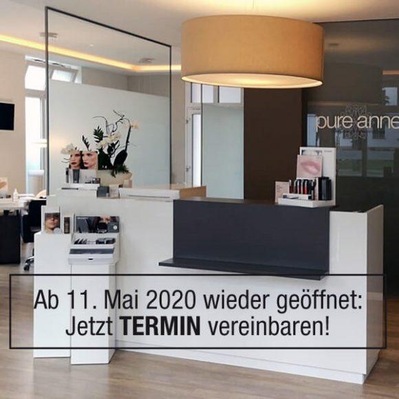 Ab 11. Mai 2020 wieder geöffnet – Termin sichern