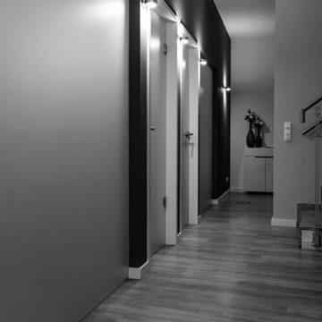 Salon pure anne: Ebene Behandlungsräume. Fotograf: Phil Horn