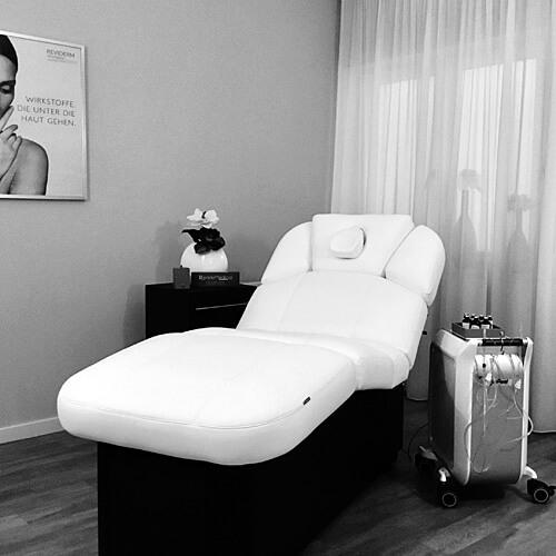Salon pure anne: Behandlungsraum. Fotografin: Yvonne Kornas